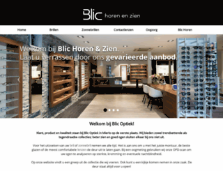 blicoptiek.nl screenshot