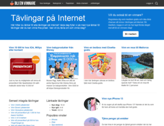 blienvinnare.com screenshot