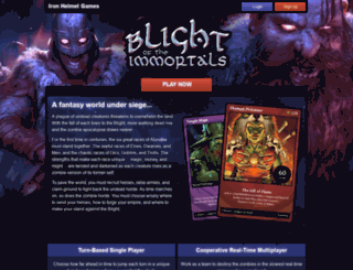 blight.ironhelmet.com screenshot