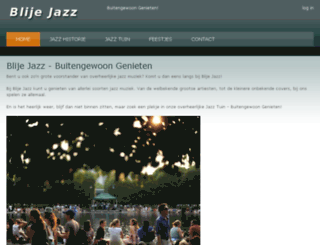 blijejazz.nl screenshot