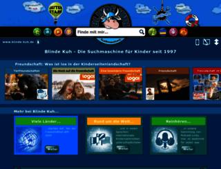blinde-kuh.de screenshot