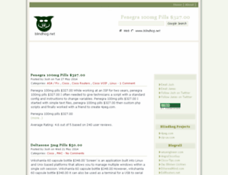 blindhog.net screenshot