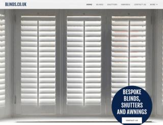 blinds.co.uk screenshot