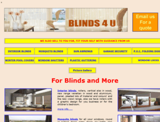 blinds4uspain.byethost11.com screenshot