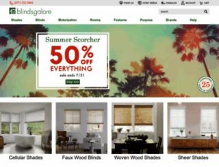 blindsgalore.com screenshot