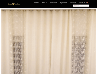 blindsncurtains.com screenshot
