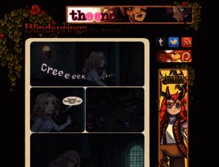 blindsprings.com screenshot