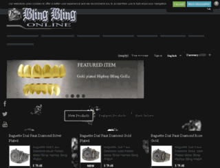 bling-bling-online.co.uk screenshot