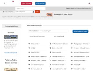 blingicedoutjewelry.ebid.net screenshot