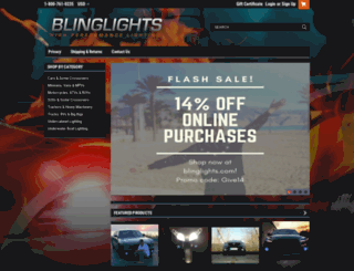 blinglights.com screenshot