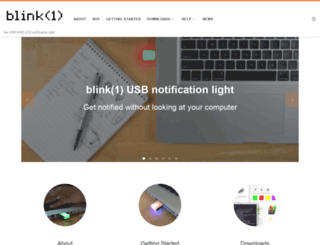 blink1.thingm.com screenshot