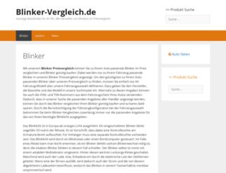 blinker-vergleich.de screenshot