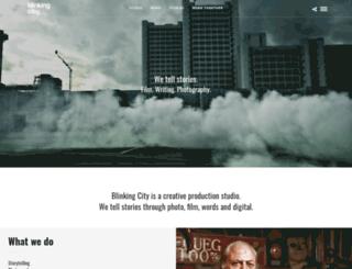 blinkingcity.com screenshot