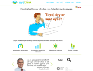 blinkingmatters.com screenshot
