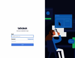 blinqtest.mytalkdesk.com screenshot