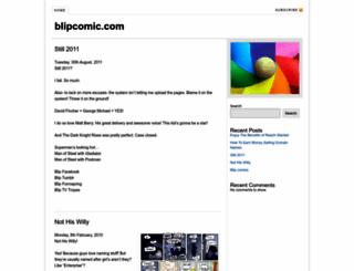 blipcomic.com screenshot