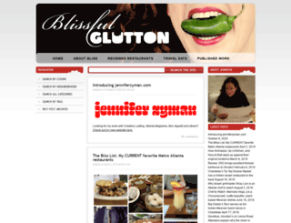 blissfulglutton.com screenshot