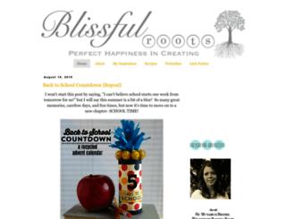blissfulroots.com screenshot