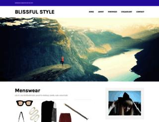 blissfulstyle.com screenshot