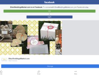 blissweddings.com screenshot