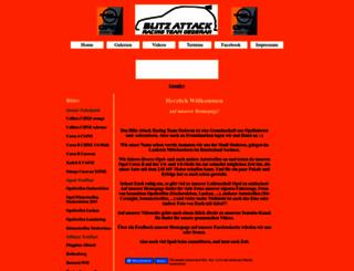 blitz-attack.de screenshot