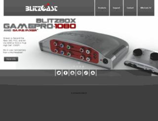 blitzcast.com screenshot