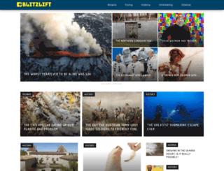 blitzlift.com screenshot