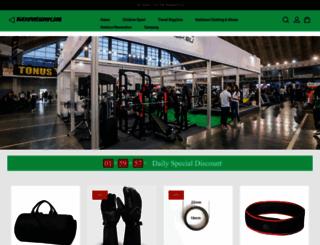 blitzsportsgoods.com screenshot