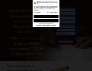 blitzstart24.de screenshot