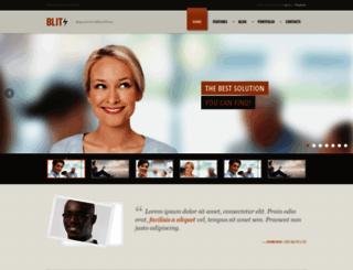 blitzwp.dan-fisher.com screenshot