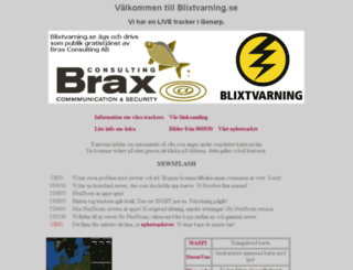 blixtvarning.se screenshot