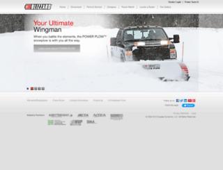 blizzardplows.com screenshot