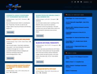 blizzplanet.com screenshot
