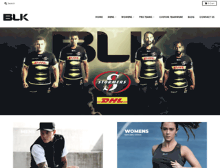 blksport.co.za screenshot