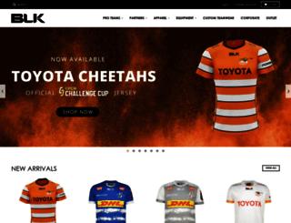 blksport.co.za screenshot
