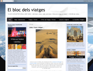 blocdeviatges.blogspot.com.es screenshot