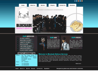blockadedefence.com screenshot
