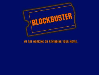 blockbuster.com screenshot