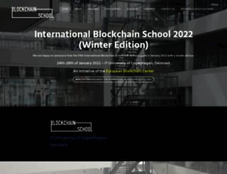blockchainschool.eu screenshot