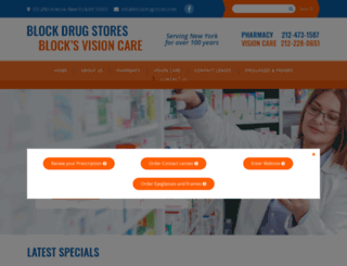 blockdrugstores.com screenshot