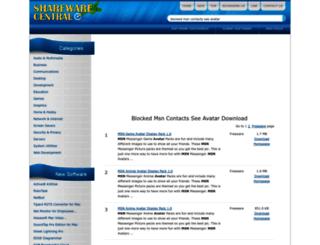 blocked-msn-contacts-see-avatar.sharewarecentral.com screenshot