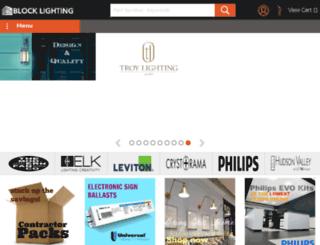 blocklighting.com screenshot