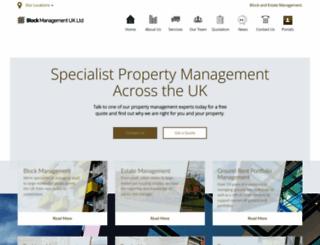blockmanagementuk.com screenshot