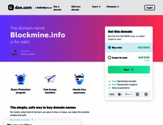 blockmine.info screenshot