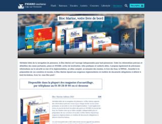 blocmarine.com screenshot