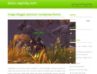 blocx.vapority.com screenshot