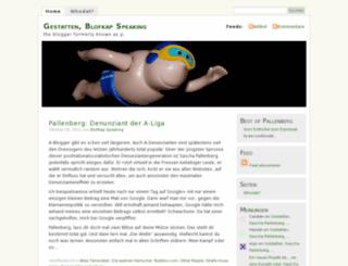 blofkap.wordpress.com screenshot