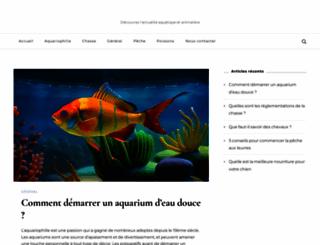 blog-aquariophilie.com screenshot