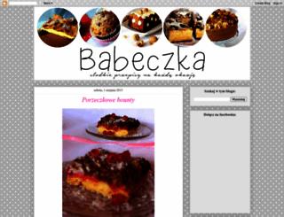 blog-babeczka.blogspot.kr screenshot