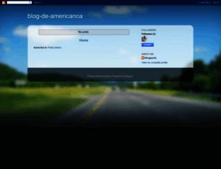 blog-de-americanca.blogspot.com screenshot